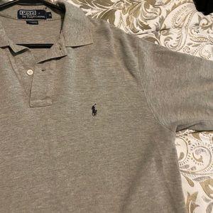 Grey Ralph Lauren Polo